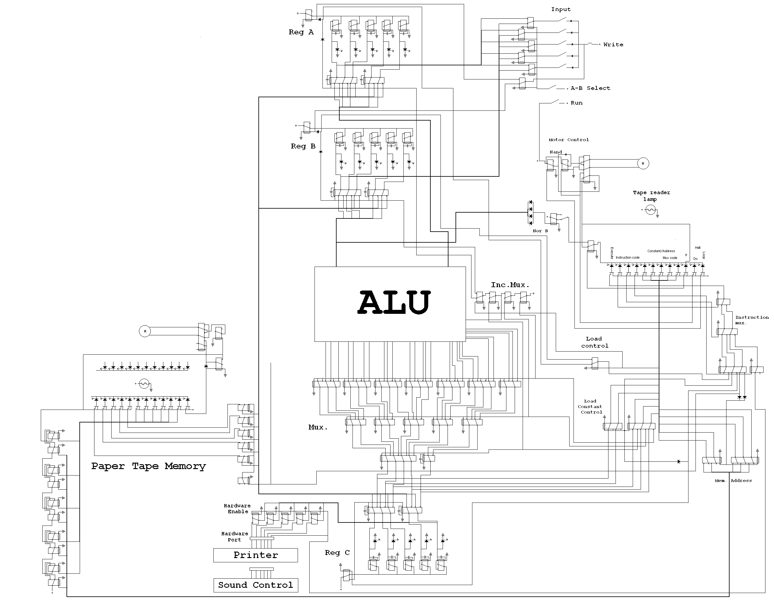 8 Bit Alu Circuit Diagram Trusted Wiring Logic For 1 Multiplexer Library